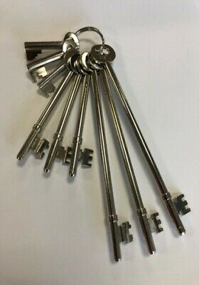 FB Key Set 9 (Fire Brigade) - Complete Master Set - Made in the UK & Tested