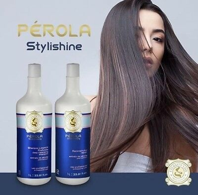 Lissage Bresilien Eternity Liss Perola Kit 2x1000 ML  /Authentique !!! ( Inoar )