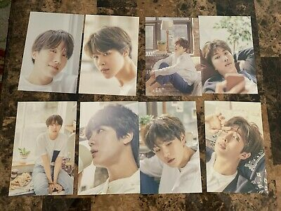Bts Official 24/7 Serendipity Exhibition Oneul Postcards