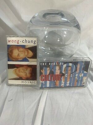 The Best of Culture Club Cassette And Wang Chung Mosaic