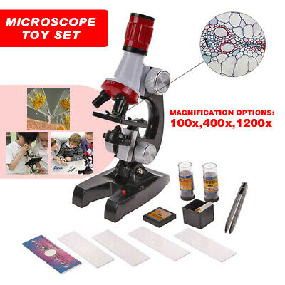 Microscope Kit Science Educational Set For Kids Chemistry Lab Smithsonian Toys