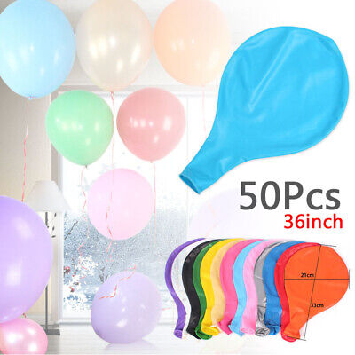 50pcs 36 Inch Colorful Pearl Latex Thickening Wedding Party Birthday Balloon