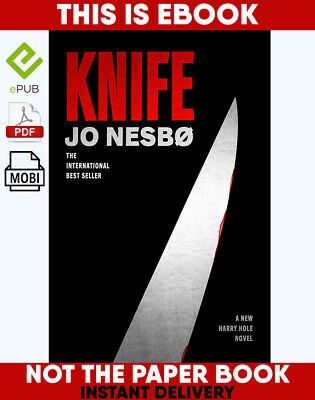 Knife A NEW HARRY HOLE NOVEL by JO NESBO 🔥 📧(email delivery) 🔥