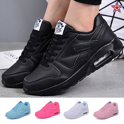 2019 Womens Air Cushion Running Sports Athletic Shoes Sneakers Walking Trainers