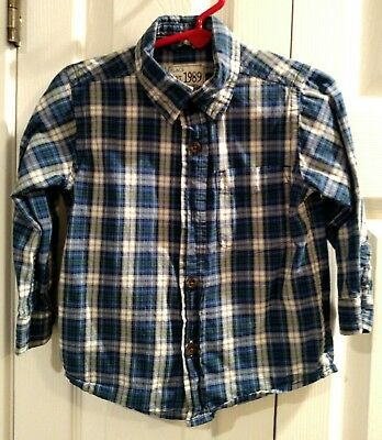 Children's Place 18-24 Months, Plaid Dress Shirt