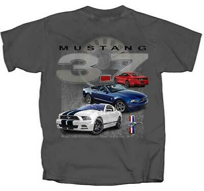 Ford Mustang 3.7 Automobiles Sports Voitures de Course Cabriolets T-Shirt