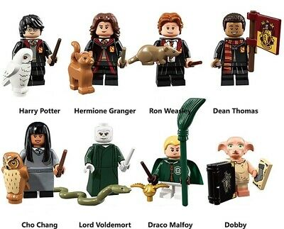 Harry Potter With Animals Minifigures Characters 2019 Building Blocks Dobby New