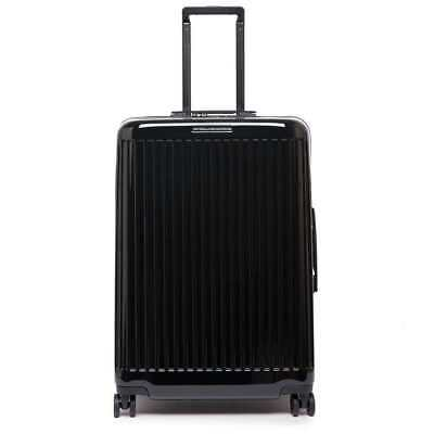 PIQUADRO Trolley Seeker Black TSA lock - BV4427SK70-N