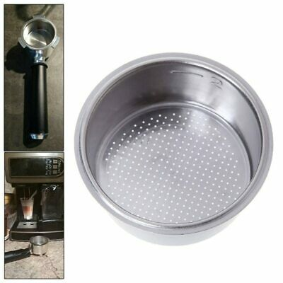 Stainless Steel Non Pressurized Coffee Filter Basket For Breville Delonghi Krups