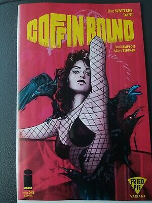 Coffin Bound #1 (Image), Fried Pie Variant NM. Tula Lotay Cover Art Very Hot