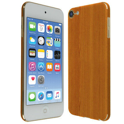 Skinomi Light Wood Skin Cover for Apple iPod Touch [7th Gen, 2019]