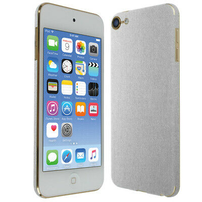 Skinomi Brushed Aluminum Skin Cover for Apple iPod Touch [7th Gen, 2019]