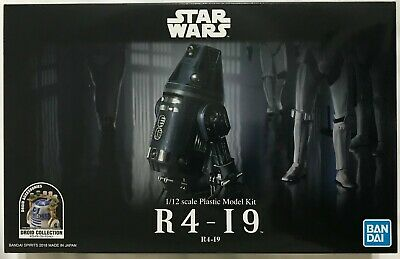 Bandai Hobby Star Wars IMPERIAL ASTROMECH R4-I9 1/12th Scale Plastic Model Kit