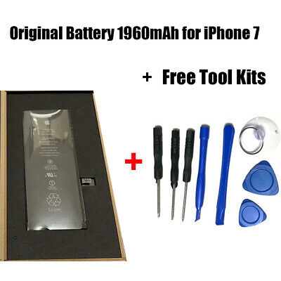 Original Battery 1960mAh for iPhone7 Replacement Battery with Free Tool Kits