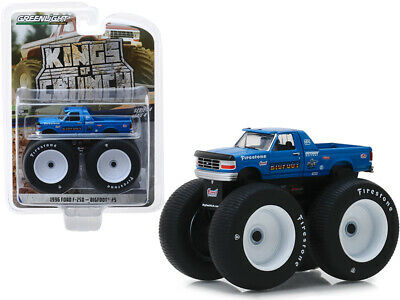 1996 Ford F-250 Monster Truck Bigfoot #5 Blue Kings of Crunch Series 4 1/64 Car
