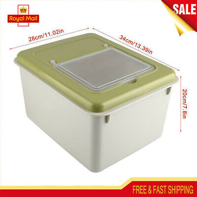 Large Capacity Airtight Dry Food Flour Container Cereal Storage Box Kitchen Tool