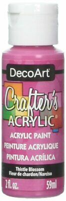 DecoArt DCA.67 Crafters Acrylic Paint 2oz Thistle Blossom