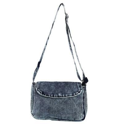 Women Denim Jeans Shoulder Bag Tote Purse Handbag Lady Messenger Crossbody LA