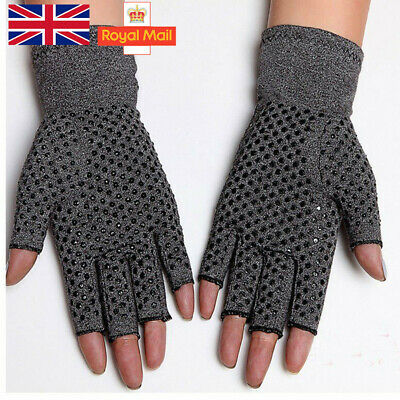 1Pair Anti-Arthritis Gloves Hand Support Pain Relief Finger Compression Therapy