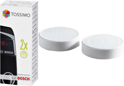 Tassimo Descaling Tablets with 4 Tablets for 2 Descaling Processes