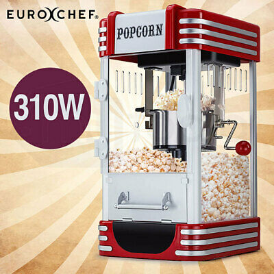 NEW EuroChef Popcorn Machine - Popper Popping Classic Cooker Microwave