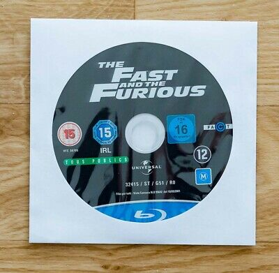 Blu ray FAST AND FURIOUS comme neuf