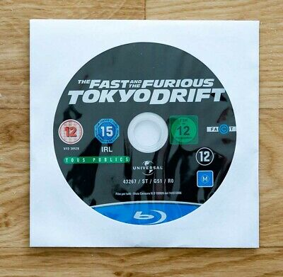 Blu ray FAST AND FURIOUS TOKYO DRIFT comme neuf