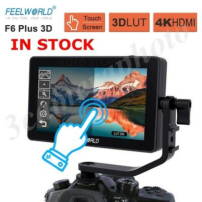 FEELWORLD F6 PLUS 5.5 Inch 3D LUT Touch Screen 1920x1080 Camera Field MonitorNEW