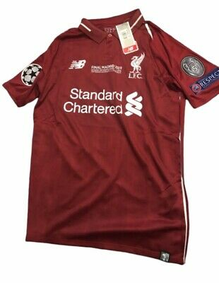 liverpool home shirt champions league 2019 win match day shirt limited edition