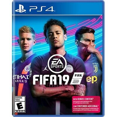 FIFA 19 Standard Playstation 4 PS4 Brand New Factory Sealed