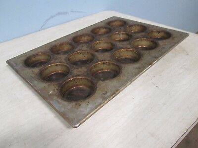"""American Pan 03035"" H.d. Commercial Large Muffins/Cupcakes Steel Baking Pans"