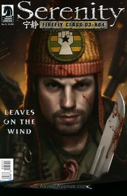 Serenity: Firefly Class 03-K64—Leaves on the Wind #5 VF; Dark Horse | save on sh