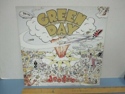 GREEN DAY 1994 Dookie 2 sided promotional poster/flat Near Mint NEW old stock