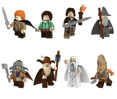 The Lord of the Rings The Hobbit Gandalf Radagast Saruman Minifigures Building
