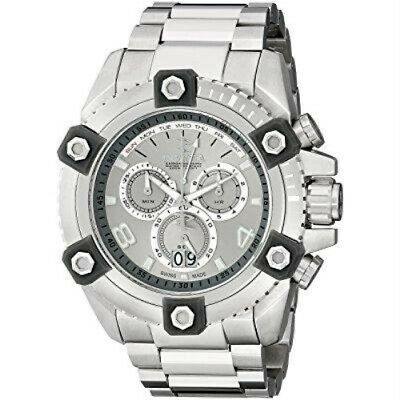 Invicta 0336 Reserve 63mm Grand Octane Swiss Quartz Stainless Mens Watch