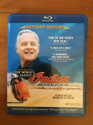 The World's Fastest Indian  Blu-ray  (Anthony Hopkins) used