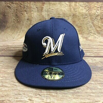 Milwaukee Brewers Sz 7 1/4 Postseason Patch 9FIFTY Snapback World Series 2018