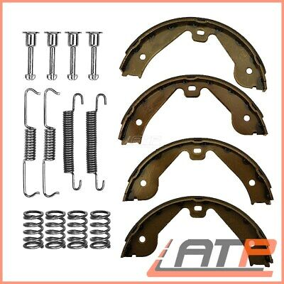 Handbrake Shoe Set + Fitting Kit Rear Vw Transporter Bus T5 Mk 5 1.9-3.2