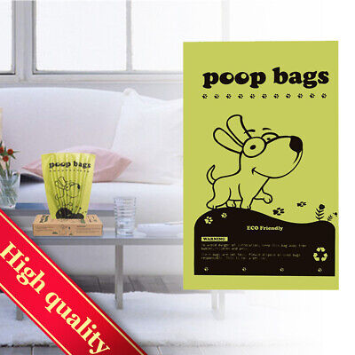 """300 Counts 9 x 13.5""""Poop Bags for Dogs -Pet Dog&Cat Ocean Scented Biodegradable"""