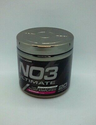 Cellucor N03 Ultimate Watermelon 20 Servings 7.4 oz New Read 09/2019