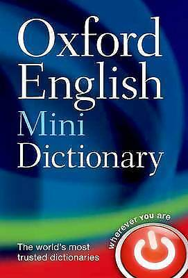 Oxford English Mini Dictionary by Oxford Dictionaries, Paperback Used Book, Acce