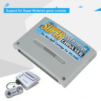 Super Everdrive Card Type Video Game For SNES SFC Flash Cart SD/MMC/TF Card
