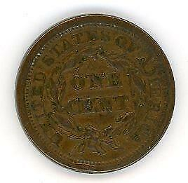 1852 United States of America Large Cent