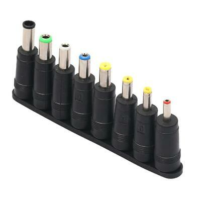 8pcs/set Plug Charger Tip AC DC Power Adapter For Computer Notebook Laptop
