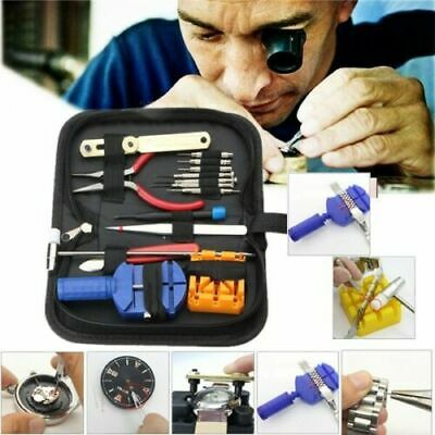 16pcs Watch Repair Tool Kit Link Remover Spring Bar Tool Case Opener Tool Set