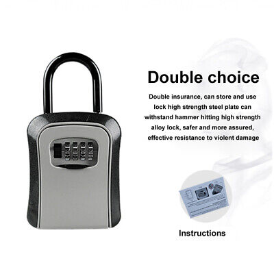4 Digit Key Lock Box for Property Management Property Preservation Door Hanger