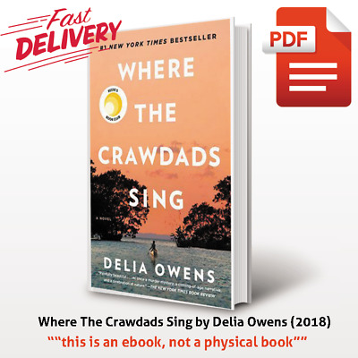 Where The Crawdads Sing by Delia Owens (2018) b0ok ⚡ Fast Shipping
