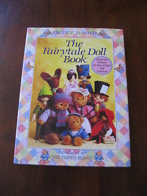 The Fairytale Doll Book: Valerie Janitch: 1988: Inc:Peter Pan :  Preloved