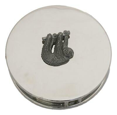 Sloth Chrome Plated Magnifying Glass Desktop Nature Wildlife Gift 435