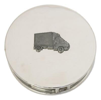 Luton Lorry Chrome Plated Magnifying Glass Desktop Driving Gift 447